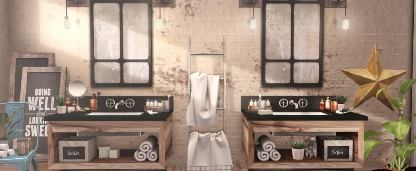 Nuove tendenze 2017 per l arredo e design del bagno - Bagno stile industriale ...