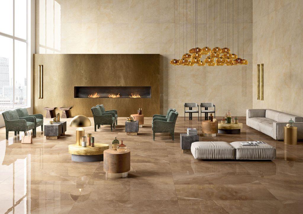 Gres porcellanato effetto pietra e effetto marmo lupia pavimenti